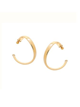 Fenty Twist Hoop Earrings