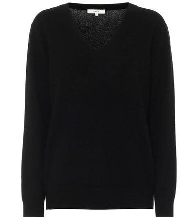 Vince, V-neck cashmere sweater