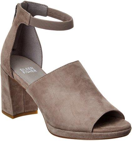 Matty Suede Ankle Strap Sandal