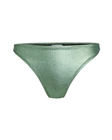 Solid & Striped Elsa Metallic Bikini Bottoms | INTERMIX®