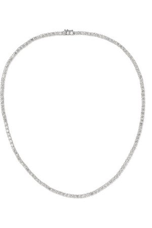 Anita Ko | Hepburn 18-karat white gold diamond necklace | NET-A-PORTER.COM