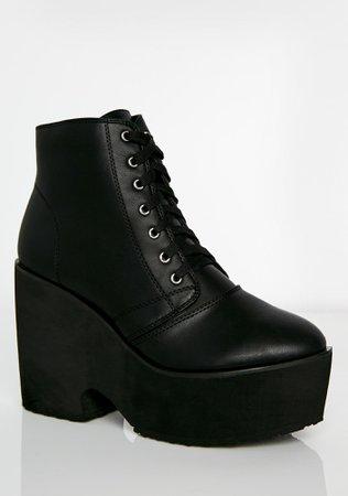 Black Platform Boots | Dolls Kill