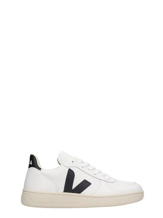 Veja Veja V-10 Sneakers In White Leather - white - 11266845 | italist