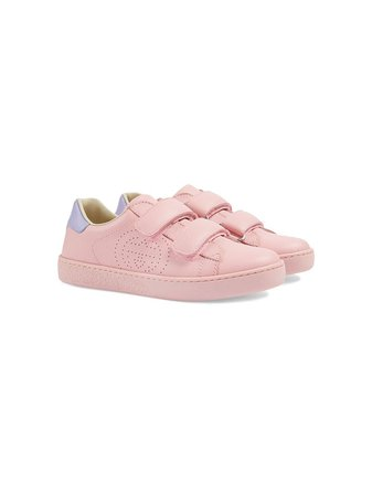 Gucci Kids Ace touch-strap Sneakers - Farfetch