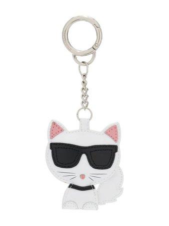 Karl Lagerfeld Choupette cat keychain white 86KW3816100 - Farfetch