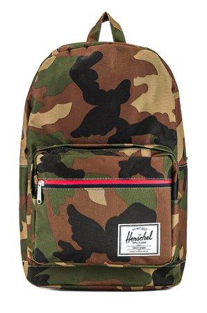 Herschel Supply Co. Pop Quiz Backpack in Woodland Camo | REVOLVE
