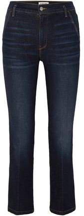 Le Slender High-rise Straight-leg Jeans
