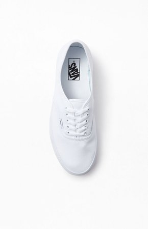 Vans Authentic White Shoes | PacSun