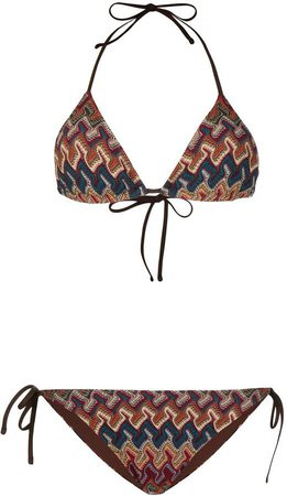 Elea crochet-knit bikini