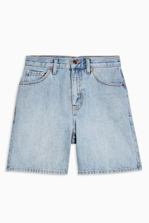 Mid Rise Denim Shorts | Topshop