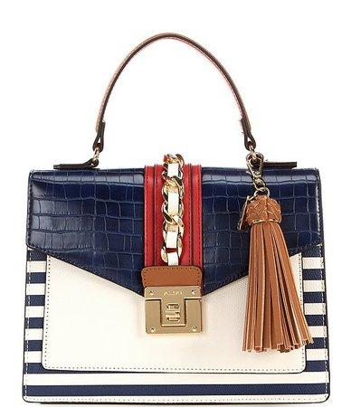 ALDO Glenda Top Handle Foldover Satchel Bag | Dillard's