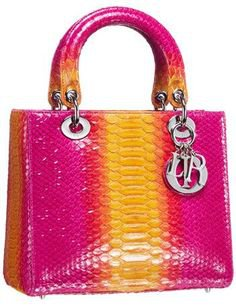 Lady Dior Exotic skins bag