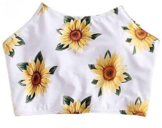 Yellow Sunflower Top Shirt