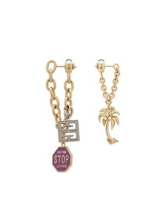 Givenchy Mismatch Charm Earrings - Farfetch