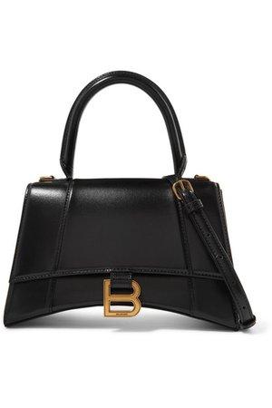 Balenciaga | Hourglass small leather shoulder bag | NET-A-PORTER.COM