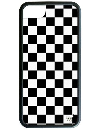 checker print phone case