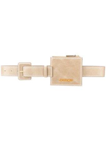 Jacquemus Suede Utility Belt Bag - Farfetch