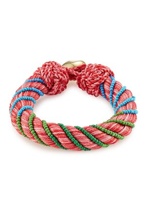 Bracelet with Glass Beads Gr. One Size