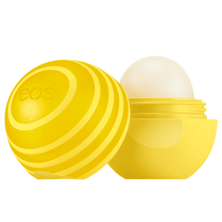 eos lemon lip balm spf