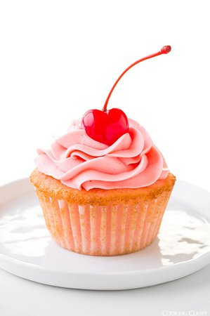 cherry cup cake - Google Search