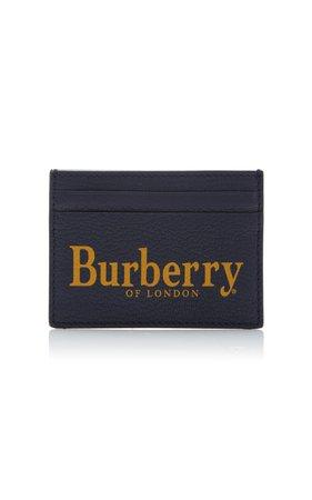 Printed Textured-Leather Cardholder by Burberry | Moda Operandi