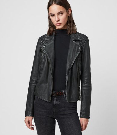 Women's Leather Jackets | Leather Biker Jackets | ALLSAINTS