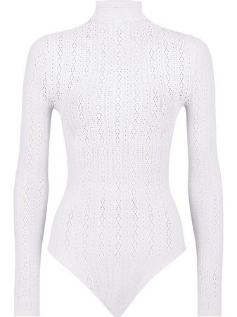 Fendi open-knit long-sleeve Bodysuit - Farfetch