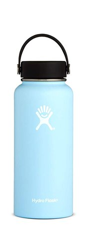 Amazon.com: Hydro Flask W32TS440 32 oz wide mouth bottle, 946 ml, Frost: Kitchen & Dining