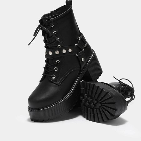 *clipped by @luci-her* Vitus Buckle Rock Boots | Koi