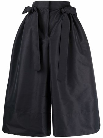 Shop Alexander McQueen high-waisted voluminous trousers with Express Delivery - FARFETCH
