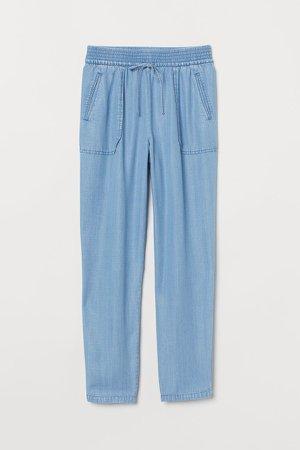 Pull-on Pants - Blue