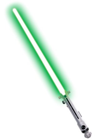 Ahsoka Tano Toy Lightsaber - Star Wars Jedi Green Lightsabers