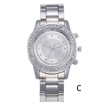 OTOKY Quartz Watch Woman Rhinestone Watches High end Silver Wrist Watches Fashion Gold Bracelet Clock Часы Женские Наручные Gift|Women's Watches| - AliExpress