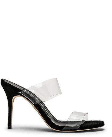 PVC Scolto 90 Sandal in Black | FWRD