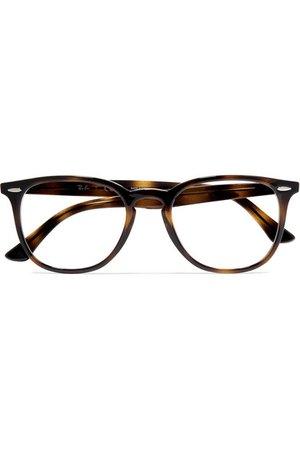 Ray-Ban | Round-frame tortoiseshell acetate optical glasses | NET-A-PORTER.COM
