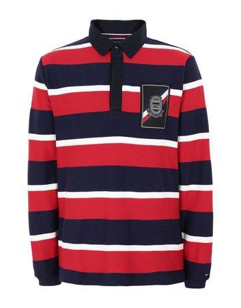 Tommy Hifiger Herringbone Textured Poloshirt