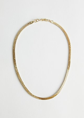 Simple Chain Necklace - Gold - Necklaces - & Other Stories