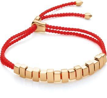 Monica Vinader Linear Ingot Friendship Bracelet | Nordstrom