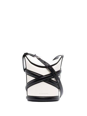 Alexander McQueen The Curve Leather Crossbody Bag - Farfetch