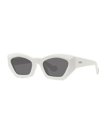Loewe Cat-Eye Acetate Sunglasses | Neiman Marcus