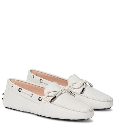 Tod's, Gommino leather loafers