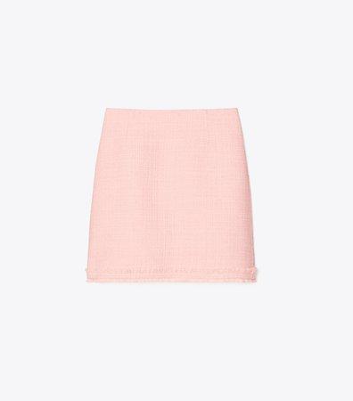 Tweed Mini Skirt: Women's Clothing | Tory Burch