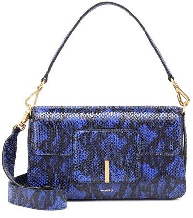 Georgia Leather Shoulder Bag | Wandler - Mytheresa