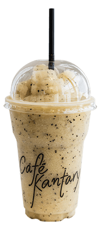 Tropical Island (Pineapple + Passion Fruit + Banana) Smoothie | Saraburi | Café Kantary