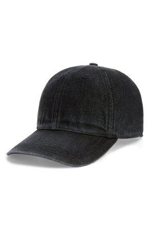 Madewell Faded Denim Baseball Cap | Nordstrom