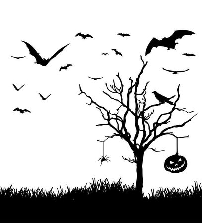 halloween background 1