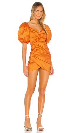 Lovers + Friends Benedetta Mini Dress in Orange   REVOLVE