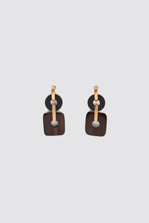 WOOD EARRINGS | ZARA India