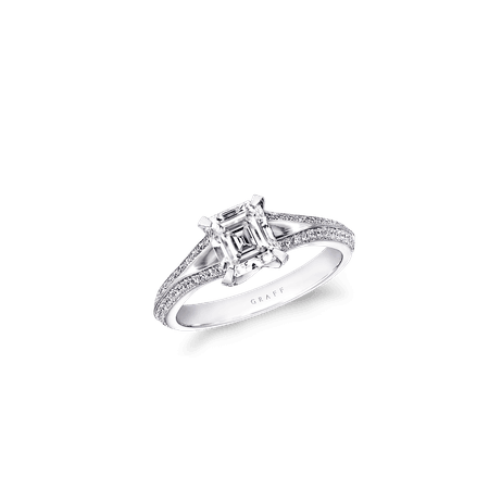Engagement Ring | Legacy, Emerald Cut | Graff