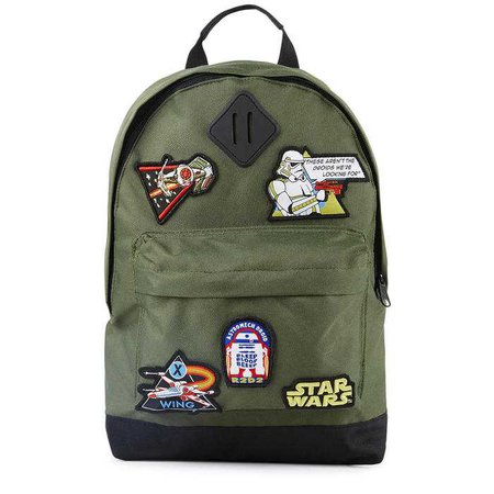 Rucksack with patches - Star Wars Fabric Flavours for boys | Melijoe.com